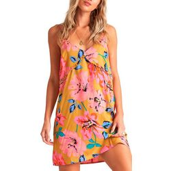 Billabong Juniors For The Frill Floral Print Dress