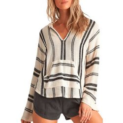 Billabong Juniors Baja Stripes Hoodie Beach Sweater