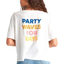 Juniors Party Waves For Days T-Shirt