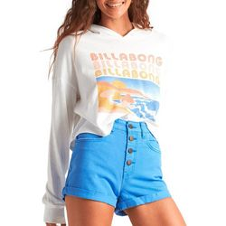 Billabong Juniors Postcard Hoodie Long Sleeve T-Shirt