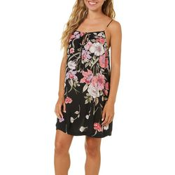 Billabong Juniors Night In Blooming Floral Mini Dress