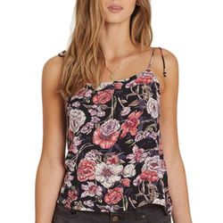 Billabong Juniors Night Out Floral Frenzy Tank Top