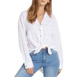 Billabong Juniors Cozy Nights Tie Front Top