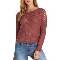 Billabong Juniors See Ya Soon Open Knit Sweater