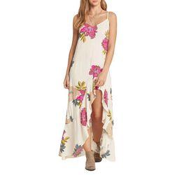 Billabong Juniors Kick It Up Floral Maxi Dress