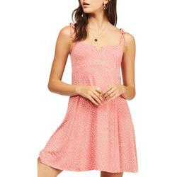 Juniors Mini Floral Dress
