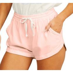 Juniors Road Trip Solid Shorts