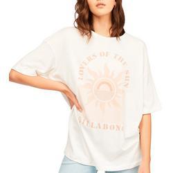 Juniors Lovers of the Sun Oversized T-Shirt