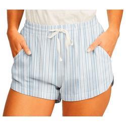 Juniors Ocean Stripes Shorts