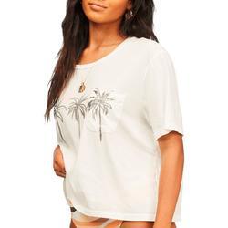 Juniors Three Palms T-Shirt