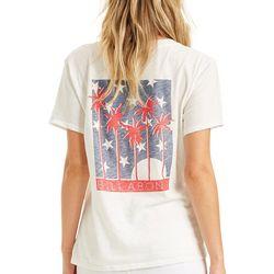 Billabong Juniors Americana Trees Graphic T-Shirt