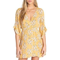 Billabong Juniors Love Light Floral Mini Dress