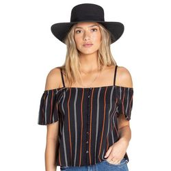 Billabong Juniors Summer Fling Stripe Cold Shoulder Top