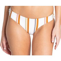 Billabong Juniors Sunstruck Lowrider Striped Bikini Bottoms