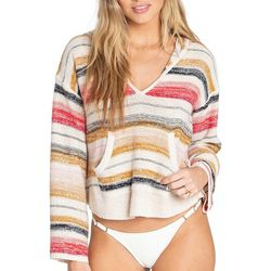 Billabong Juniors Baja Striped Pullover Beach Sweater