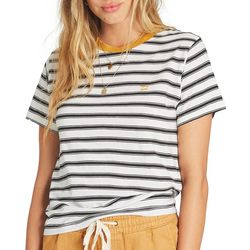 Billabong Juniors New Soul Babe Striped Ringer T-Shirt