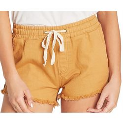 Billabong Juniors Coast Line Drawstring Denim Shorts