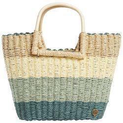 Billabong Womens Salty Blonde Ride Straw Handbag