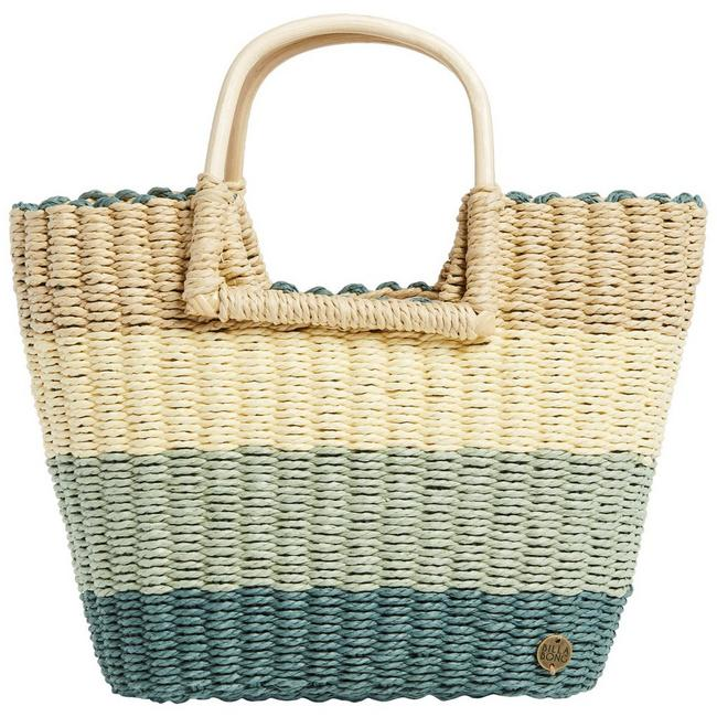 Womens Salty Blonde Ride Straw Handbag | Bealls