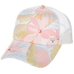 Billabong Womens Floral Meshed Trucker Hat