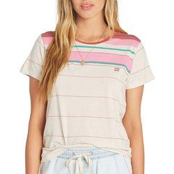 Billabong Juniors Soul Babe Striped Ringer T-Shirt