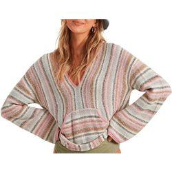 Billabong Juniors Baja Stripe Hoodie Beach Sweater