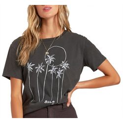 Billabong Juniors Mas Palms Graphic Tee