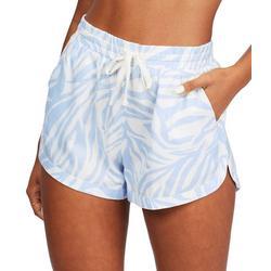 Juniors Road Trippin Zebra Shorts