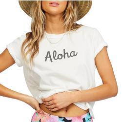 Juniors Aloha Mahalo Tee