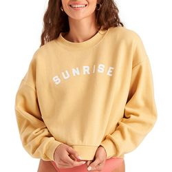 Billabong Juniors Be Mindful Cropped Sweatshirt