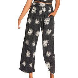 Billabong Juniors Cut Through Palm Print Pants