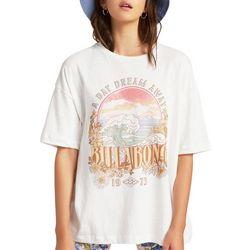 Billabong Juniors Graphic Oversized T-Shirt