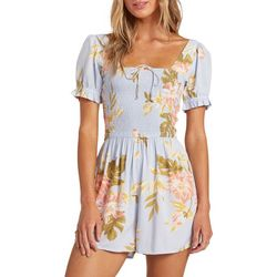 Billabong Juniors Flirty Day Smoked Romper