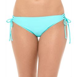 Juniors Cape Cod Solid Strappy Swim Bottoms