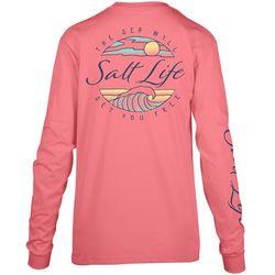 Salt Life Juniors Tranquil Tides Long Sleeve Top