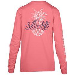 Salt Life Juniors Salty and Sweet Long Sleeve Top