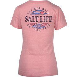 Salt Life Juniors The Sea Will Set You Free T-Shirt