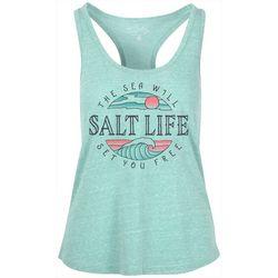 Salt Life Juniors Set Me Free Tank Top