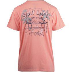 Salt Life Juniors The Paradise View T-Shirt