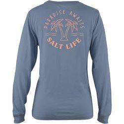 Salt Life Juniors Went To Paradise Long Sleeve T-Shirt