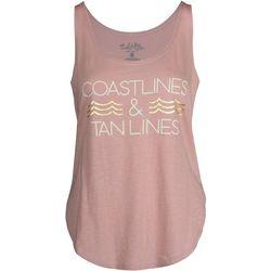 Salt Life Juniors Coastlines & Tan lines Tank Top