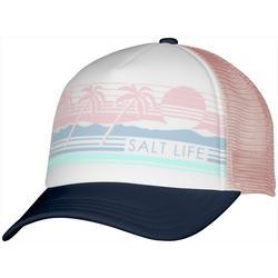 Juniors Front Print Mesh Trucker Hat