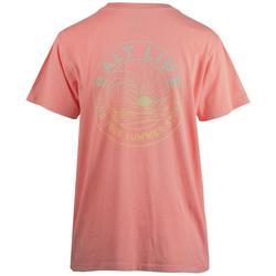 Juniors Single Chest Pocket T-Shirt