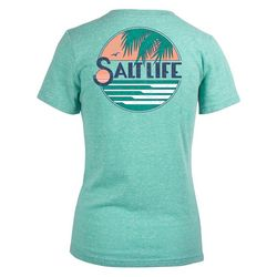 Salt Life Juniors Short Sleeve Horizon T-Shirt