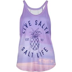 Salt Life Juniors Twilight Print Tank Top