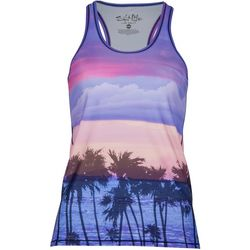 Juniors Pink Dreams Print Tank Top