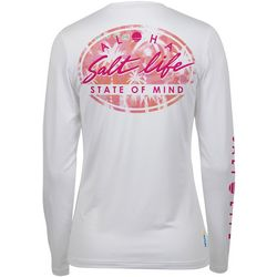 Juniors Aloha State Of Mind Long Sleeve Top
