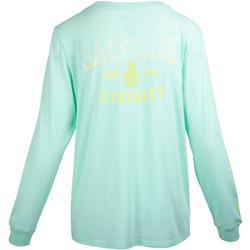 Juniors Pineapple Whip Long Sleeve T-Shirt