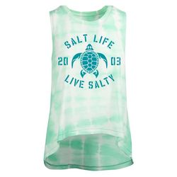 Salt Life Juniors Tipsy Turtle Tank Top