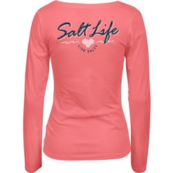 Salt Life Juniors Live Salty Long Sleeve Top